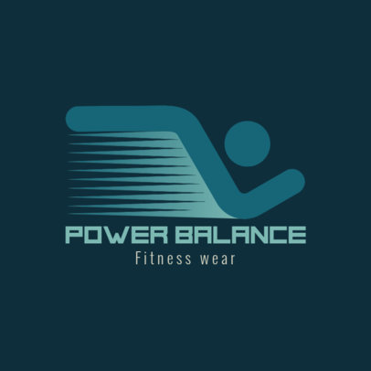 Logo Maker for a Dropshipping Activewear Brand 4250b