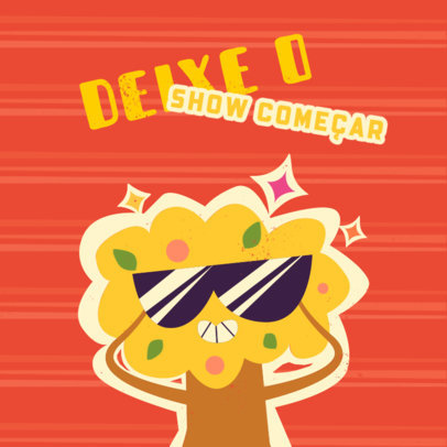 Brazilian Kids' Clothing Brand Logo Creator with a Cartoonish Character 4254a