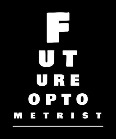 T-Shirt Design Generator for a Future Optometrist 3606e
