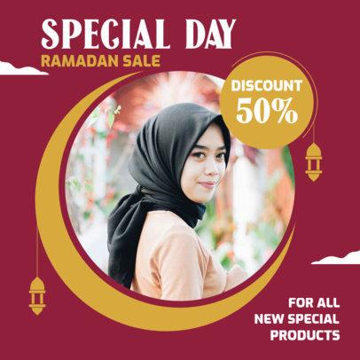 Instagram Post Template for a Ramadan Sale 3881-el1