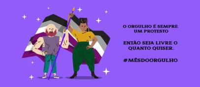 Inspiring Facebook Cover Design Generator with a Quote in Portuguese 3610c