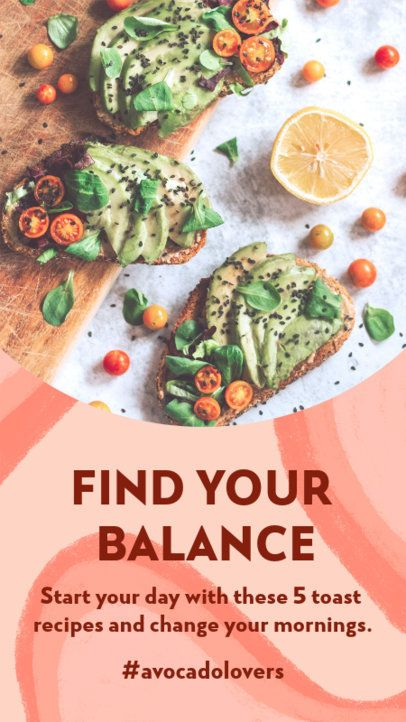 Wellness-Themed Instagram Story Design Creator with a Modern Style 3632c