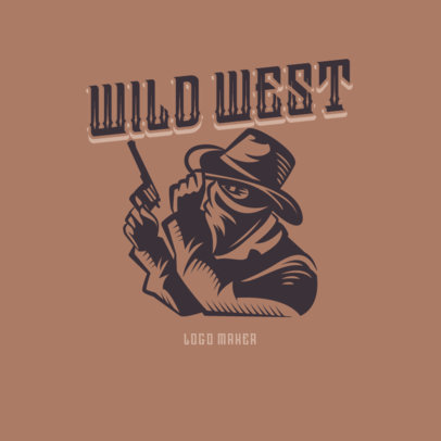 Vintage Logo Maker with a Wild West-Inspired Graphic 4297d