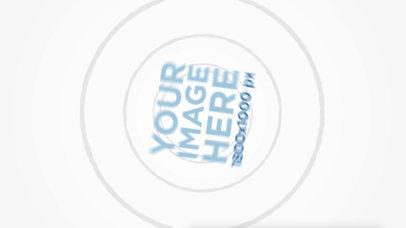 Logo Animation - White Background Spinning Logo 3