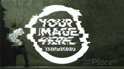 Logo Animation - Glitched Logo 9