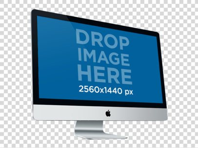 27 Inch iMac 2012 Perspective