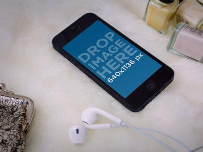 Black iPhone 5 Beauty Spa 2